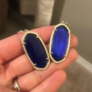 LIKE NEW Kendra Scott BLUE Earrings